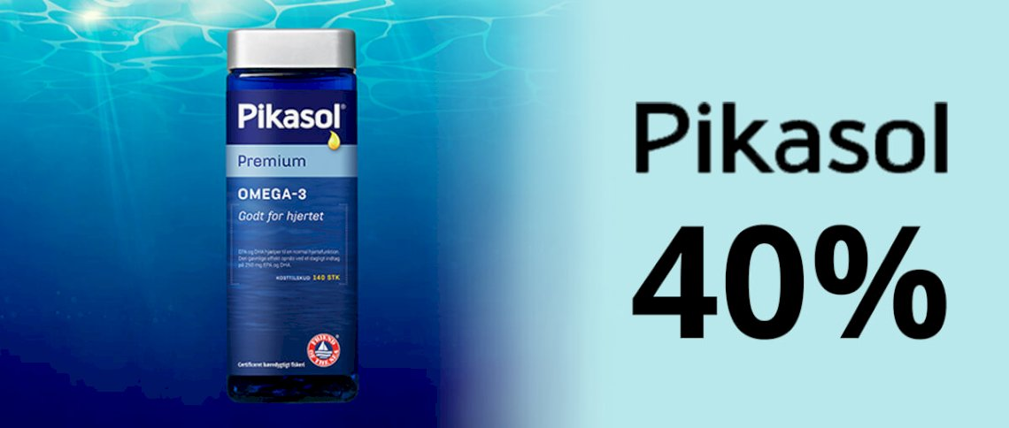 Save 40% on Pikasol