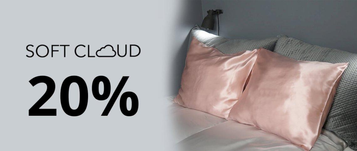 Save 20% on Soft Cloud