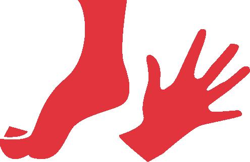 Fuß- und Handpflege