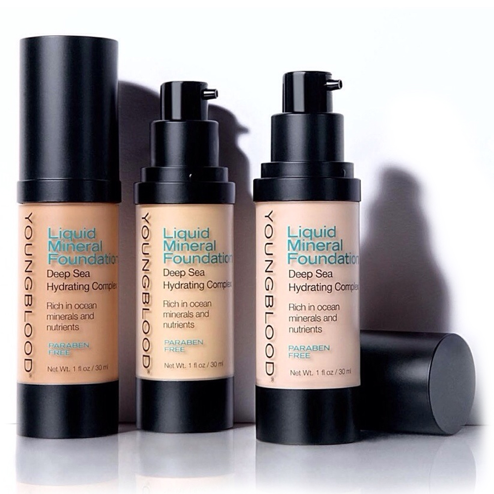 Youngblood Liquid Mineral Foundation - Golden Tan