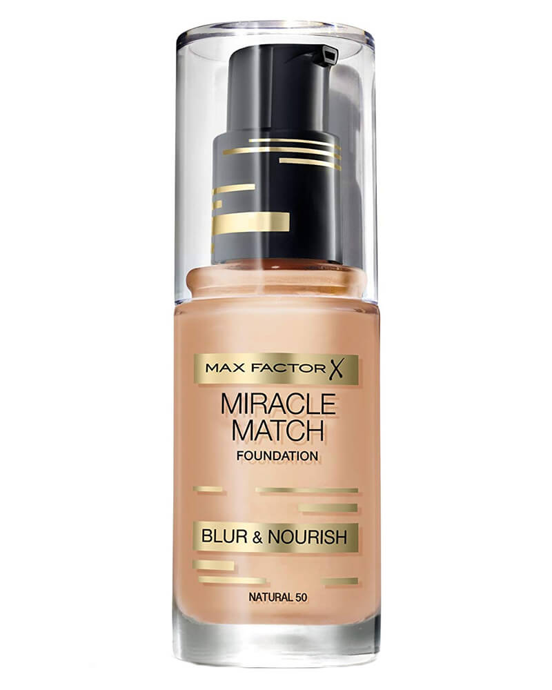 Max Factor Miracle Match Foundation Natural 50 30 ml