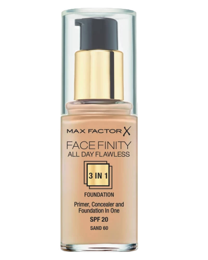Max Factor Facefinity 3-in-1 Foundation Sand 60 30 ml