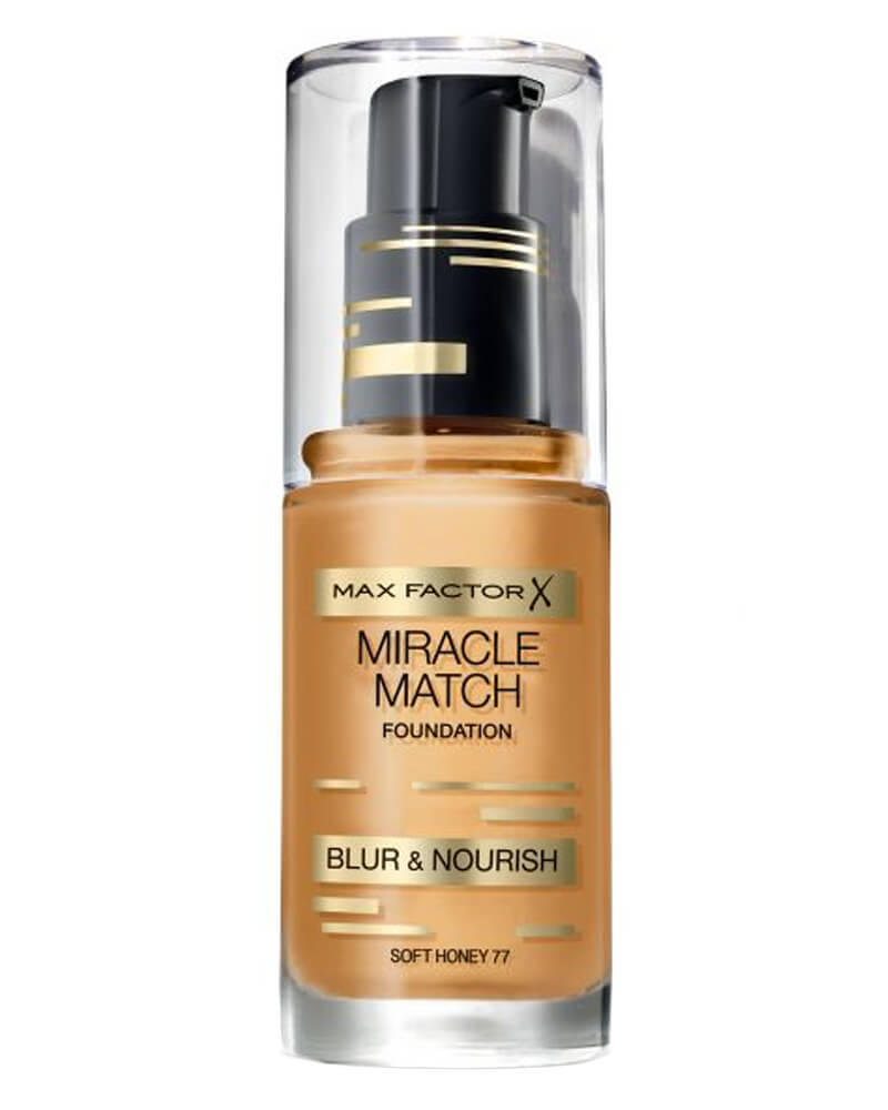Max Factor Miracle Match Foundation Soft Honey 77 30 ml