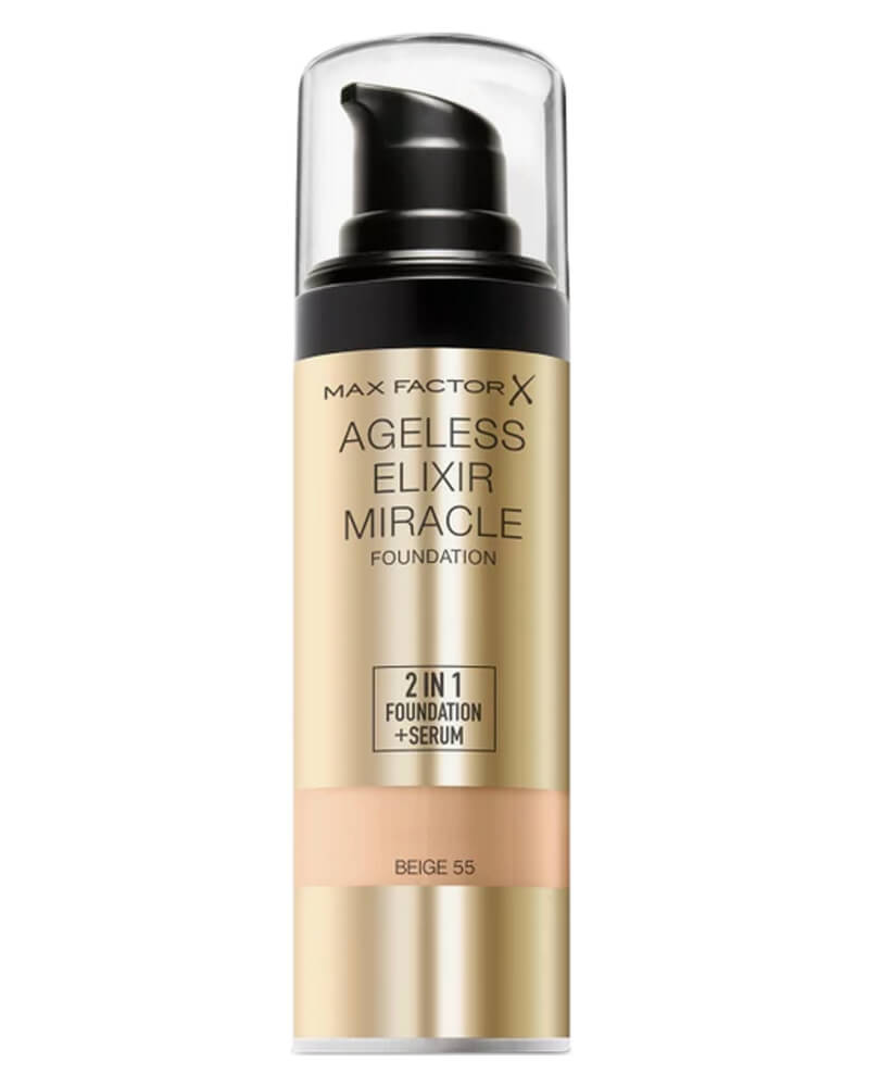 Max Factor Ageless Elixir Miracle Foundation 55 Beige 30 ml