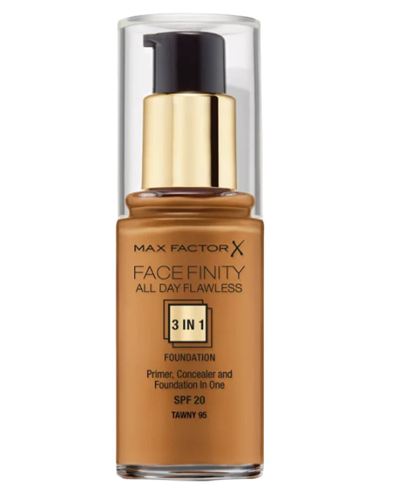 Max Factor Facefinity 3-in-1 Foundation Tawny 95 30 ml
