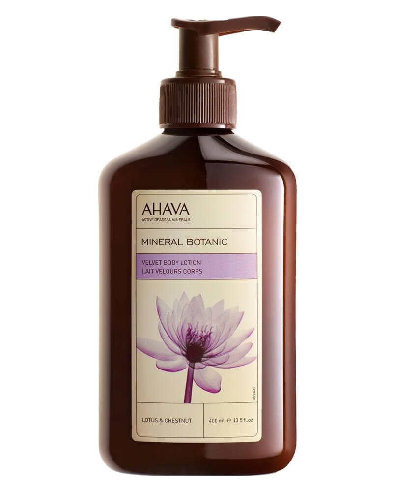 AHAVA Velvet Body Lotion - Lotus & Chestnut