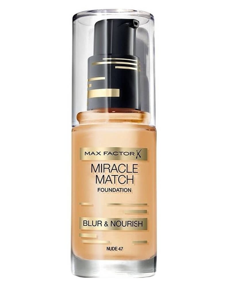 Max Factor Miracle Match Foundation Nude 47 30 ml