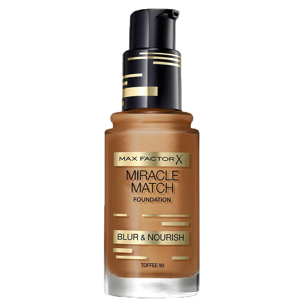 Max Factor Miracle Match Foundation - Toffee 90