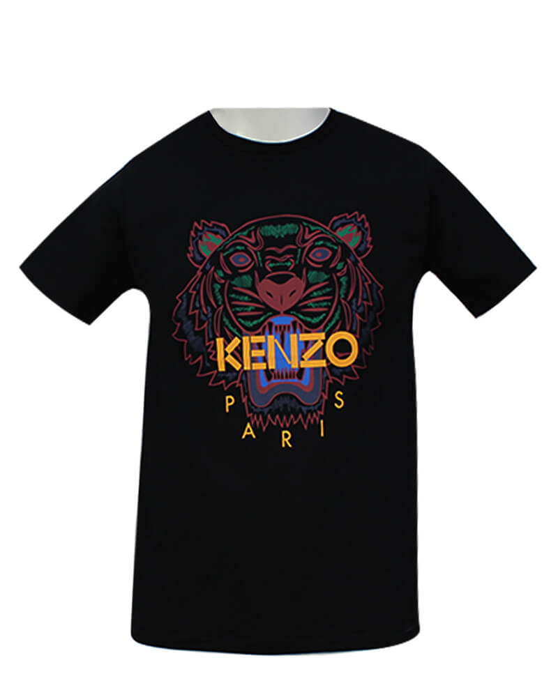 Kenzo Classic Tiger T-Shirt Sort S