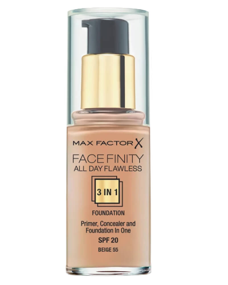 Max Factor Facefinity 3-in-1 Foundation Beige 55 30 ml
