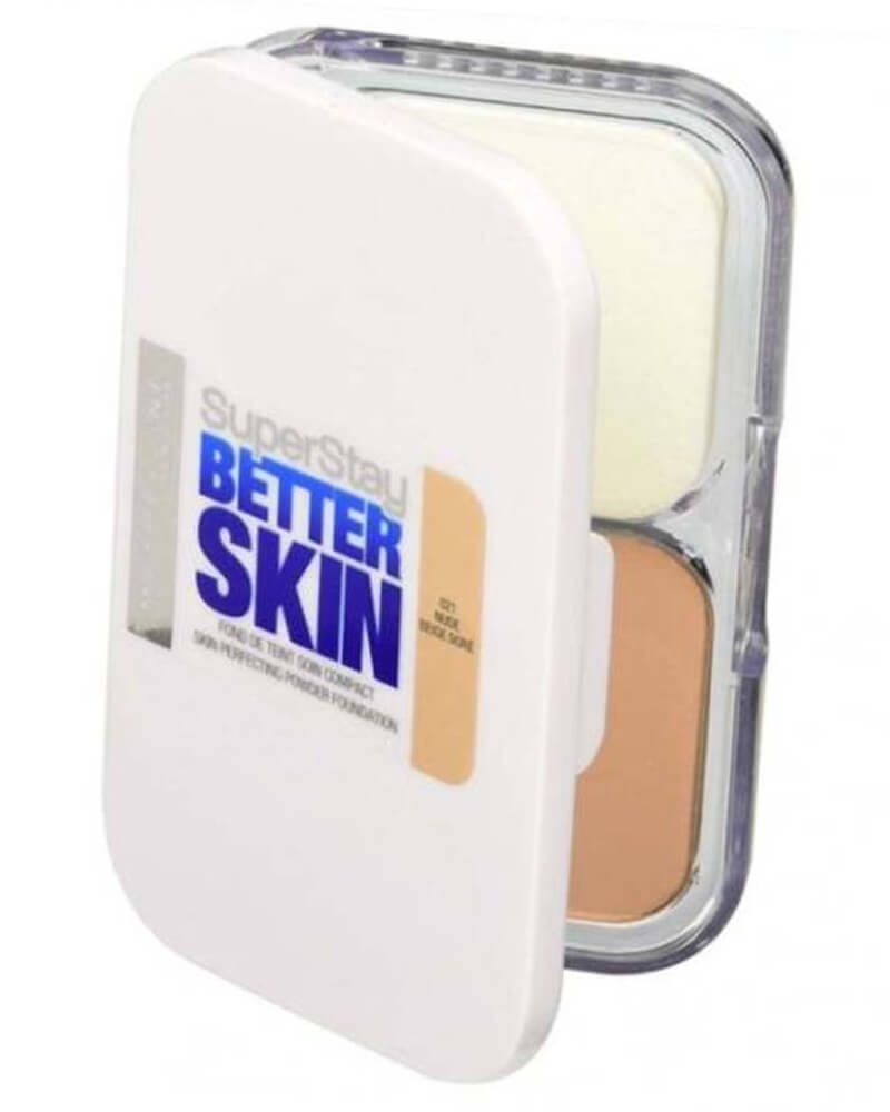 Maybelline SuperStay Better Skin Perfecting Powder Foundation - 021 Nude