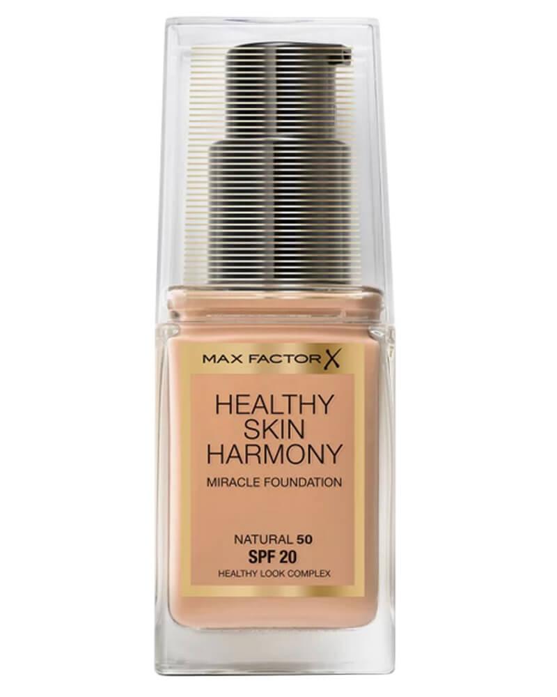 Max Factor Healthy Skin Harmony Foundation 50 Natural
