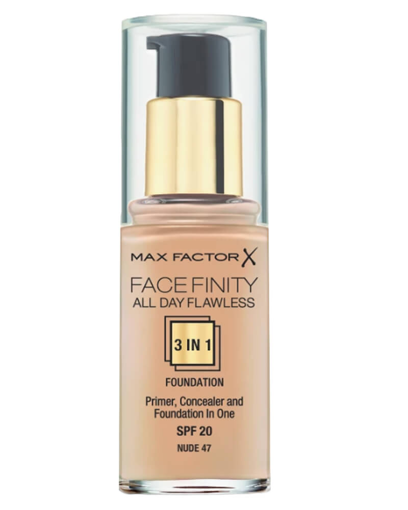 Max Factor Facefinity 3-in-1 Foundation Nude 47 30 ml