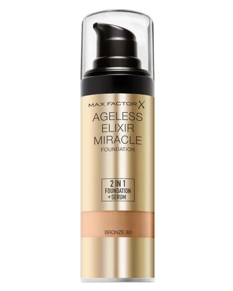 Max Factor Ageless Elixir Miracle Foundation 80 Bronze 30 ml