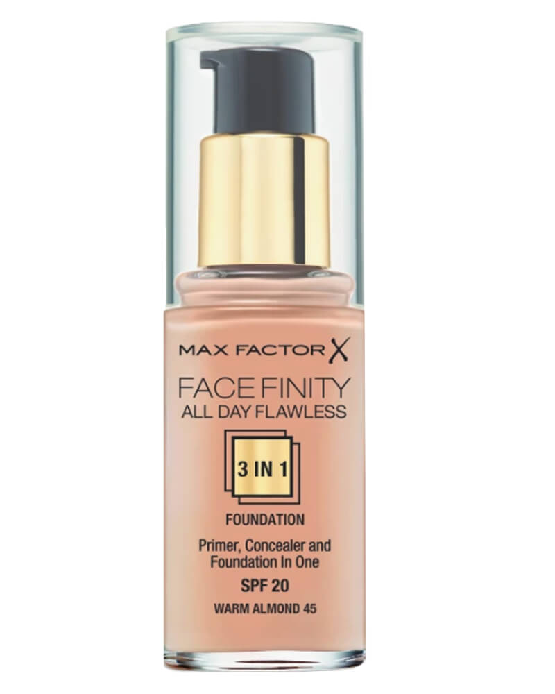 Max Factor Facefinity 3-in-1 Foundation Warm Almond 45 30 ml