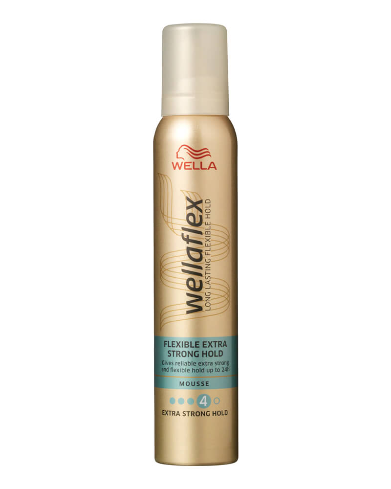 Wella Wellaflex Flexible Extra Strong Hold Mousee