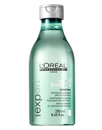 Loreal Sensi balance Shampoo Sorbitwin (Blå/grøn) (U) 250 ml