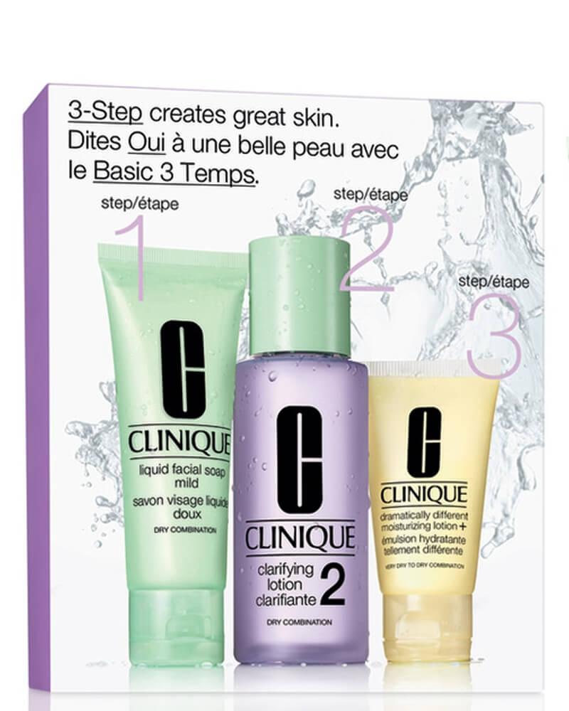 Clinique Set 2-Step Skin Care - Dry-Combination (Lilla) 180 ml