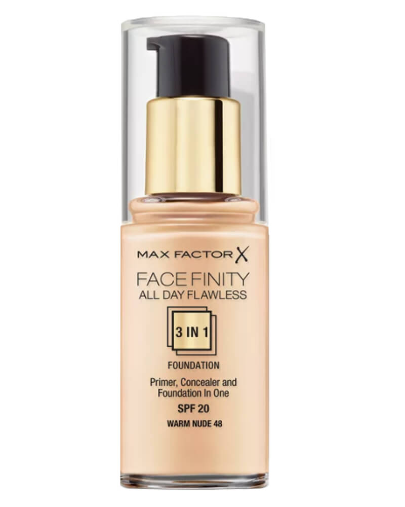 Max Factor Facefinity 3-in-1 Foundation Warm Nude 48 30 ml