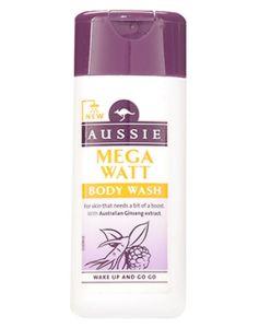 Aussie Mega Watt Body Wash 75 ml