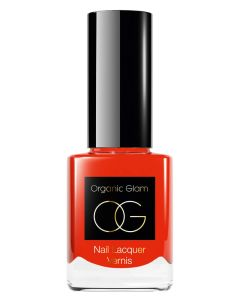 Organic Glam Coral Nail Polish (U) 11 ml