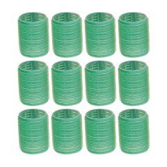 Velcrocurler Grøn 48 mm 3011892 12 stk