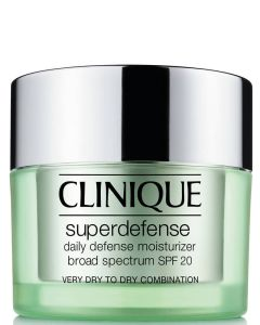 Clinique Super Defense SPF 20 Daily Defense Moisturizer Very Dry To Dry Combination 1-2 50 ml