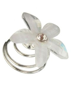 Everneed White Flower Spin 5stk