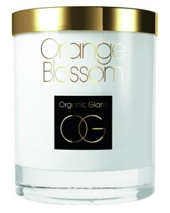 Organic Glam Orange Blossom Candle (U)