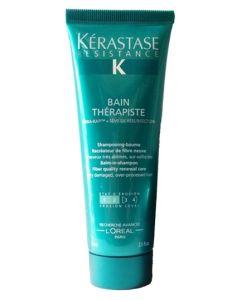 Kerastase Resistance Bain Therapiste Shampoo (Rejse Str.) 75 ml