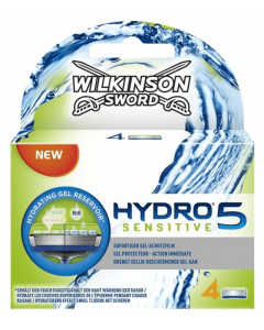 Wilkinson Sword - Hydro 5 Sensitive Hydrating Gel Reservoir 4 pak