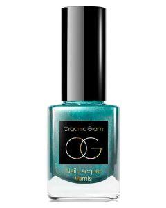 Organic Glam Emerald City Nail Polish (U) 11 ml