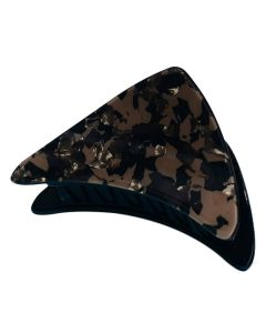 Everneed Haarklemme - Haifischzähne - Brauntöne
