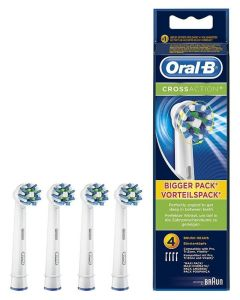 Oral B CrossAction 4pak Børstehoveder