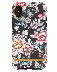 Richmond And Finch Black Floral iPhone X/Xs Cover