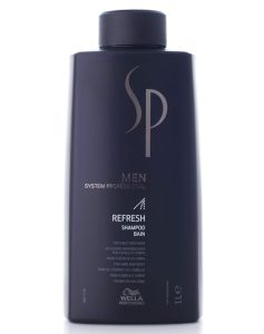 Wella SP MEN Refresh Shampoo 1000 ml