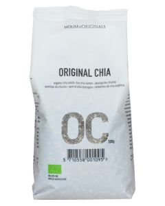 Original Chia - Chia Samen in Blechdosen (Schwarz) 300 g