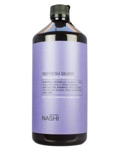 Nashi Argan Refresh Silver Shampoo (Inkl. Pumpe) 1000 ml