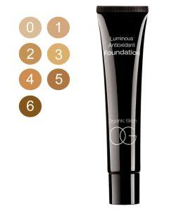 Organic Glam Luminous Antioxidant Foundation 6 (U) 40 ml