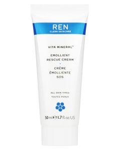 REN Vita Mineral - Emollient Rescue Cream 50 ml