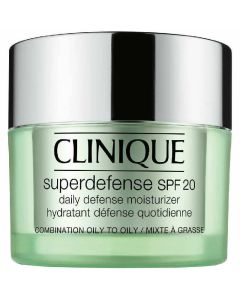 Clinique Super Defense SPF 20 Daily Defense Moisturizer Combination Oily To Oily 3-4 50 ml
