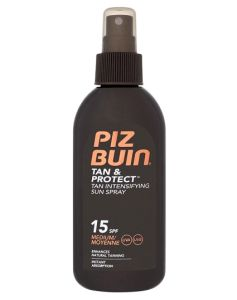 Piz Buin Tan & Protect, Tan Intensifying Sun Spray SPF 15 150 ml