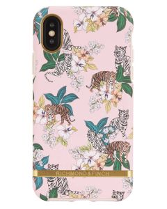 Richmond And Finch Pink Tiger iPhone X Cover