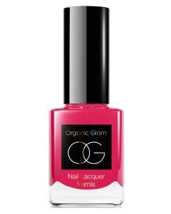 Organic Glam Fucia Nail Polish (U) 11 ml