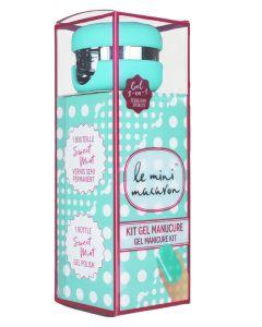 Le Mini Macaron Gel Manicure Kit Sweet Mint 10 ml