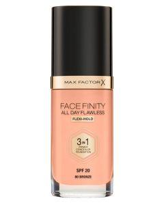 Max Factor Facefinity 3 in 1 Bronze 80 - 30 ml