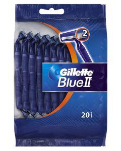 Gillette Blue 2 - Engangsskrabere 20 pak
