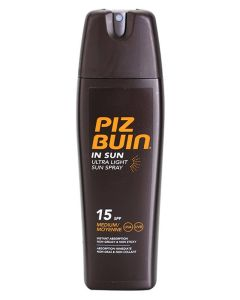 Piz Buin Ultra Light Hydrating Sun Spray SPF 15 200 ml