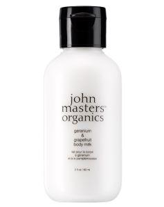 John Masters Geranium & Grapefruit Body Milk TRAVEL 60 ml