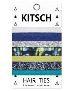 KITSCH - Sun & Surf Hair Ties - 5 stk